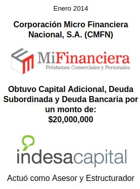 ENERO 2014 - MIFINANCIERA