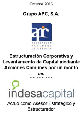 OCT 2013 - APC